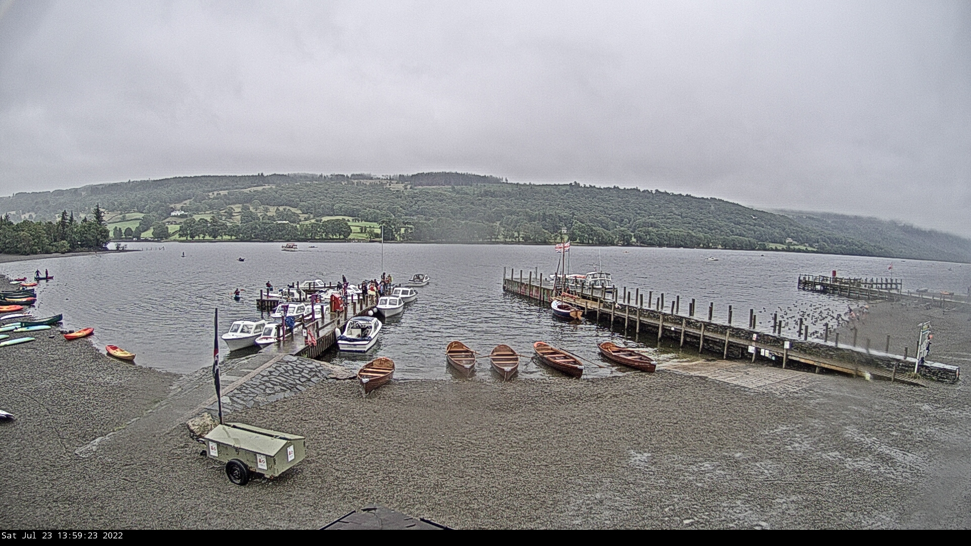Webcam at Coniston Lake District